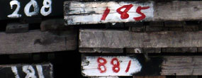 Numbered Pallets