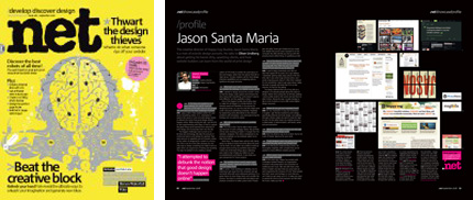 .net magazine issue 180 with profile spread